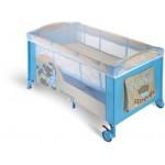 Patut pliabil Plebani Pisolo-albastru - P049-28