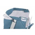 BabyGo – Patut co-sleeper 2 in 1 Together Turquoise Blue - BBBBGO-4603