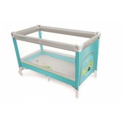 Baby Design Simple 05 Turquoise 2017 - Patut pliabil - BBSDB17SIM05