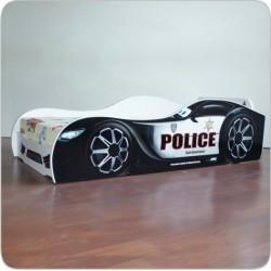 Pat copii masina Police 2-8 ani - PC044