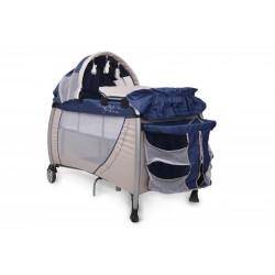 Patut Pliant Bebe CANGAROO Relax Blue - MYK00004126