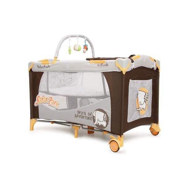 Patut Pliant Bebe MONI Happy Baby Safari Park - MYK00002911