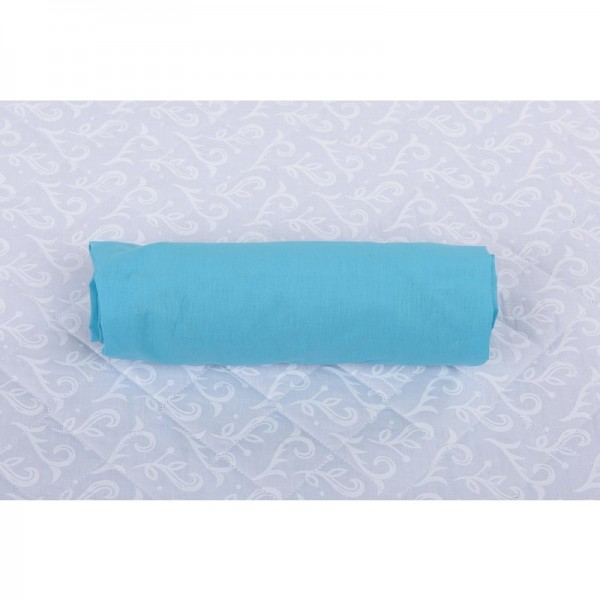 BabyNeeds - Cearceaf cu elastic 120x60 cm, Bleu - BYNBN101