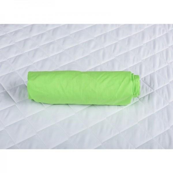 BabyNeeds - Cearceaf cu elastic 120x60 cm, Verde - BYNBN74