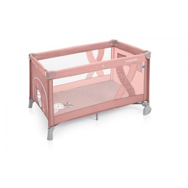 Baby Design Simple patut pliabil - 08 Pink 2019 - BBSBD19SIM08