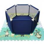 Tarc de joaca pentru copii, Mamakids, Albastru - BBD73119