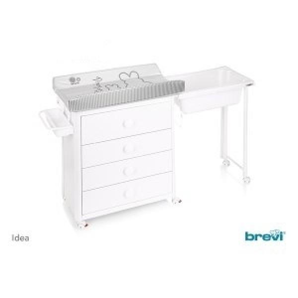 Brevi 571A Comoda Idea 501 Alb - HPBBV571A-501