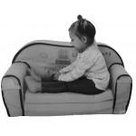 Canapea extensibila din burete Owl Dreams - BBXDT2PV18345F