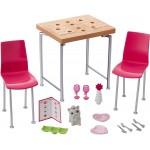 Accesorii Barbie - Mobila, masa si scaune - DVX44-DVX45