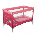 Baby Design Simple 02 raspberry - Patut pliabil - BBSBD15SI02