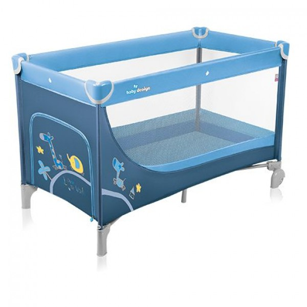 Baby Design Simple 03 blue 2015 - Patut pliabil - BBSBD15SI03