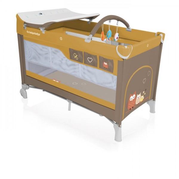 Baby Design Simple 09 Beige 2018 - Patut pliabil - BBSBD18SIM09