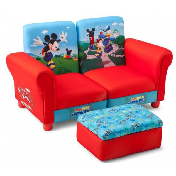 Canapea 3 in 1 Disney Mickey Mouse - BBXTC85680MM